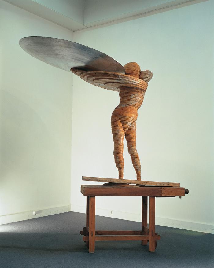 Marco Bagnoli, Come figura d'arciere, 1993