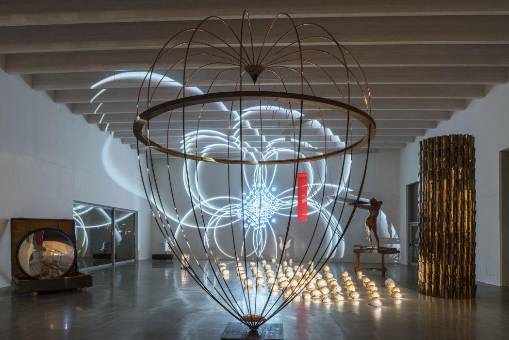 Apertura Atelier Marco Bagnoli, 2017, veduta della mostra