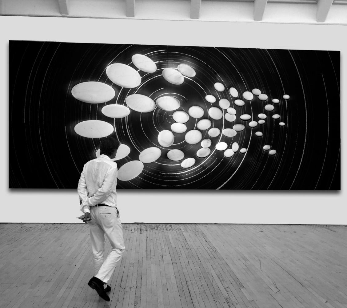 Marco Bagnoli, Le stelle ruotate al Polo, 2011